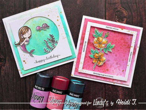 Salt Background Technique with Lindy's