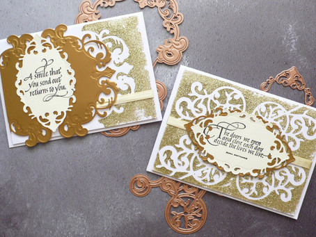 Elegant Cards with Spellbinders Dies