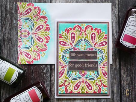 Good Friends: Card & Matching Envelope