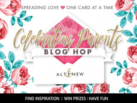 Altenew Celebrating Parents Blog Hop Winner