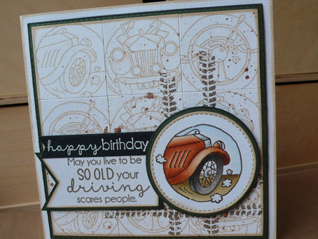Vintage Birthday cards for Guys