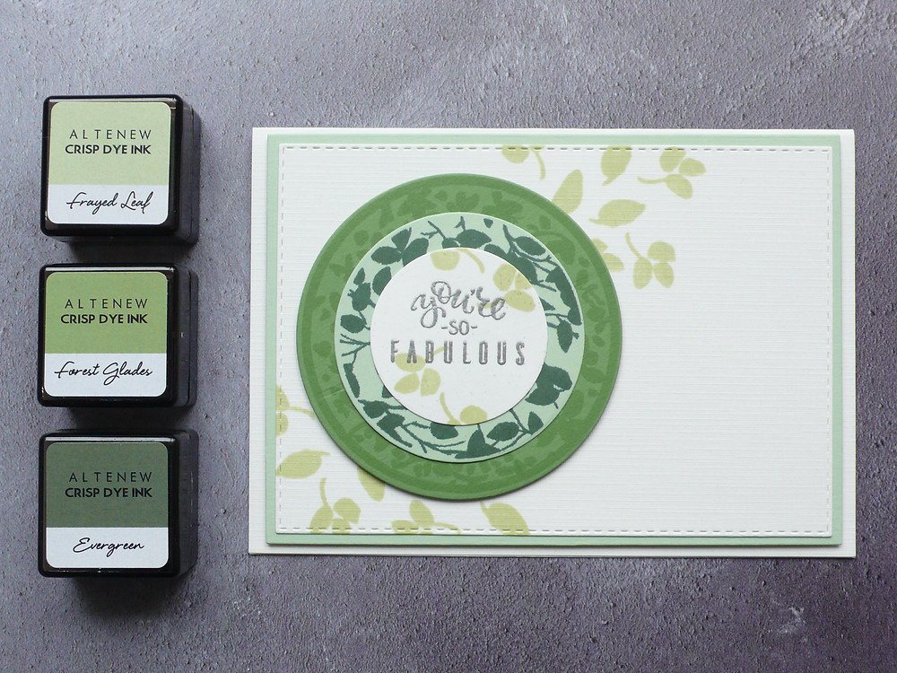 Altenew Botanical Silhouettes stamp set