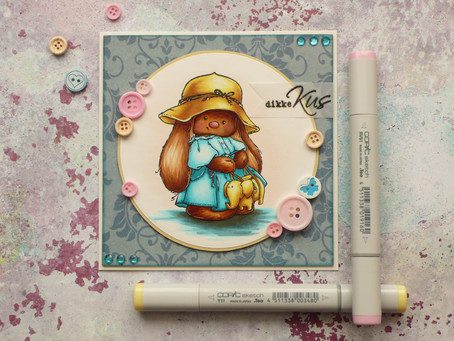 Panama Hat with Copic Markers