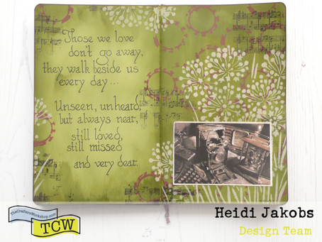 Art Journal Page: In Memory