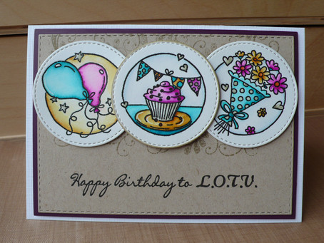 L.O.T.V. Birthday Card