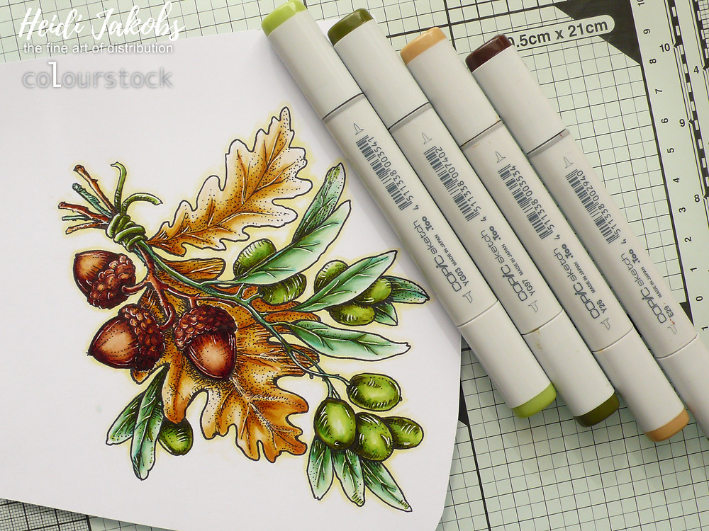 Colourstock Copic Markers GelliArts