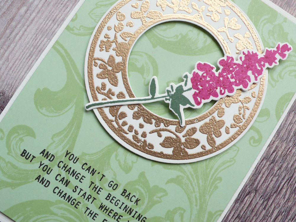 Altenew Lavender Bud stamp set