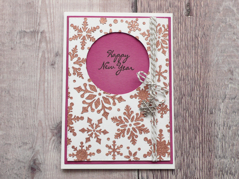 The Crafter's Workshop Snowflakes stencil