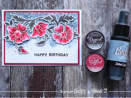 Lindy's Stamp Gang January Color Challenge