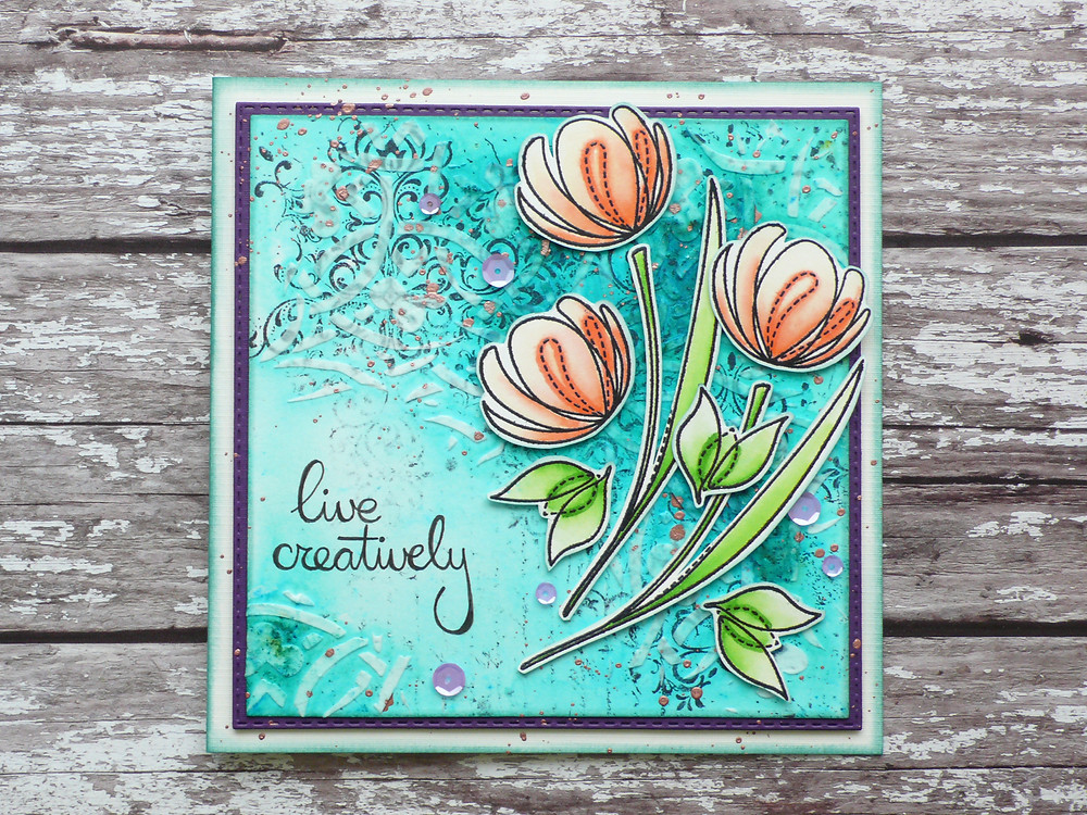 Simon Says Stamp Spring Flowers