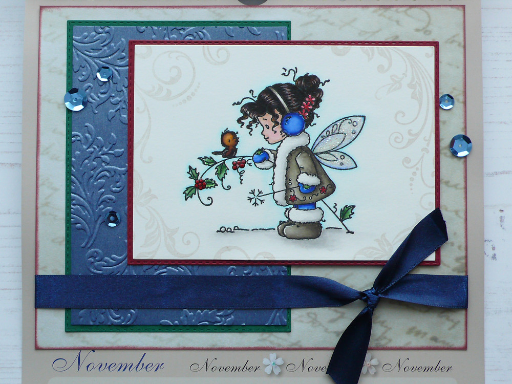 Whimsy Stamps Winter Fairy