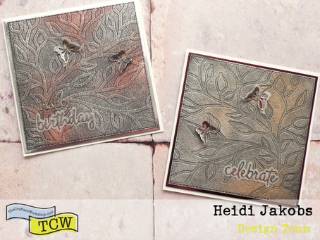 Fun and easy cards with Dry Embossing