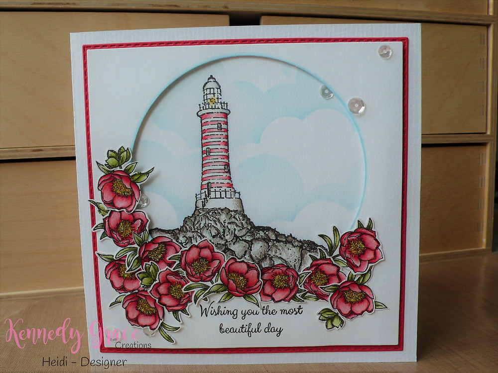 Faber Castell Polychromos Kennedy Grace Creations Beautfiul Blooms - Sweet Rose