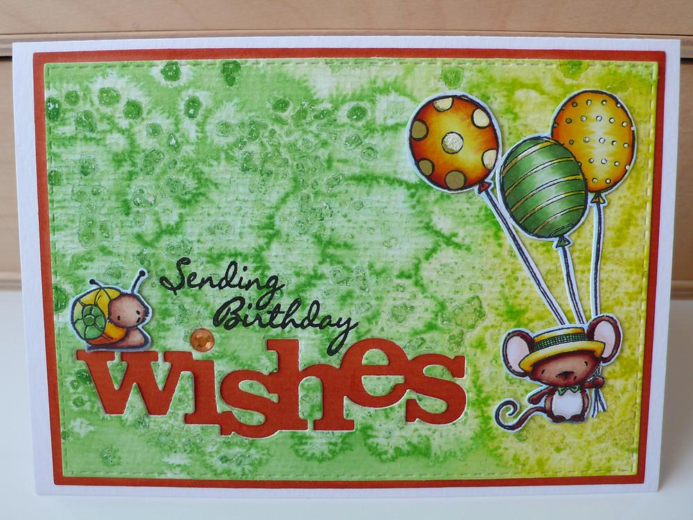 Winnie and walter Wishes POD Oliver Garden bugs Balloon Trio LOTV Handwritten Phrases Gansai Tambi 36 set