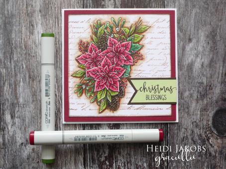 Gorgeous new Graciellie Design digital Christmas stamp set