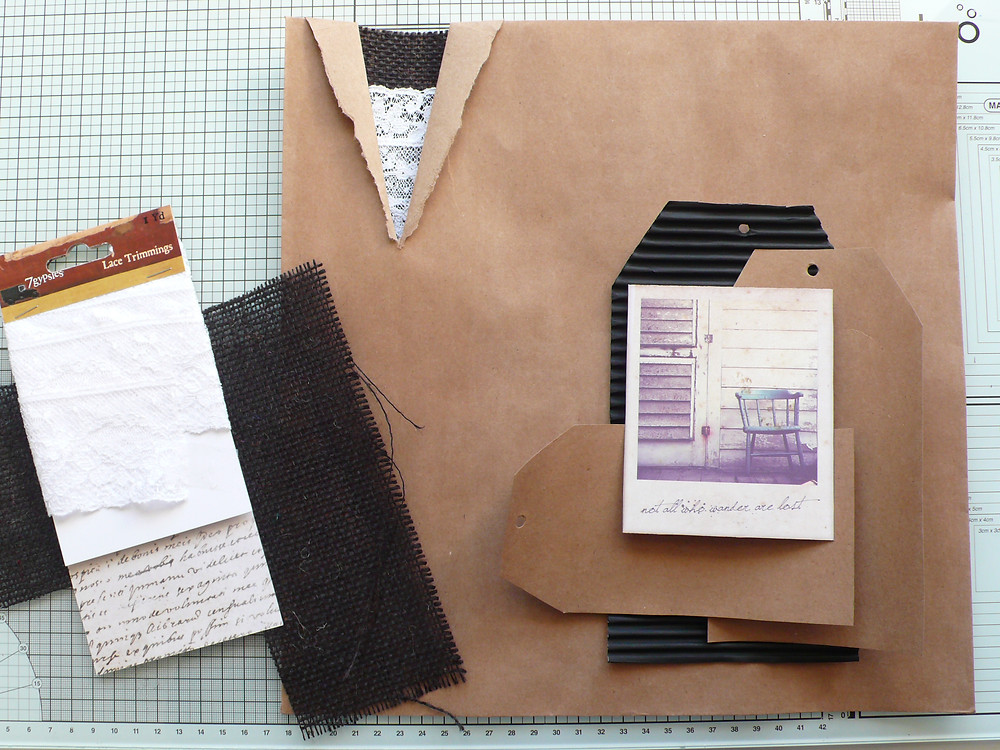 Canvas Corp Brands 12x12 Envelope Challenge
