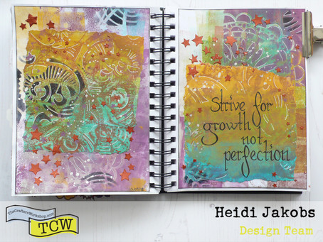 Art Journal Page: Growth