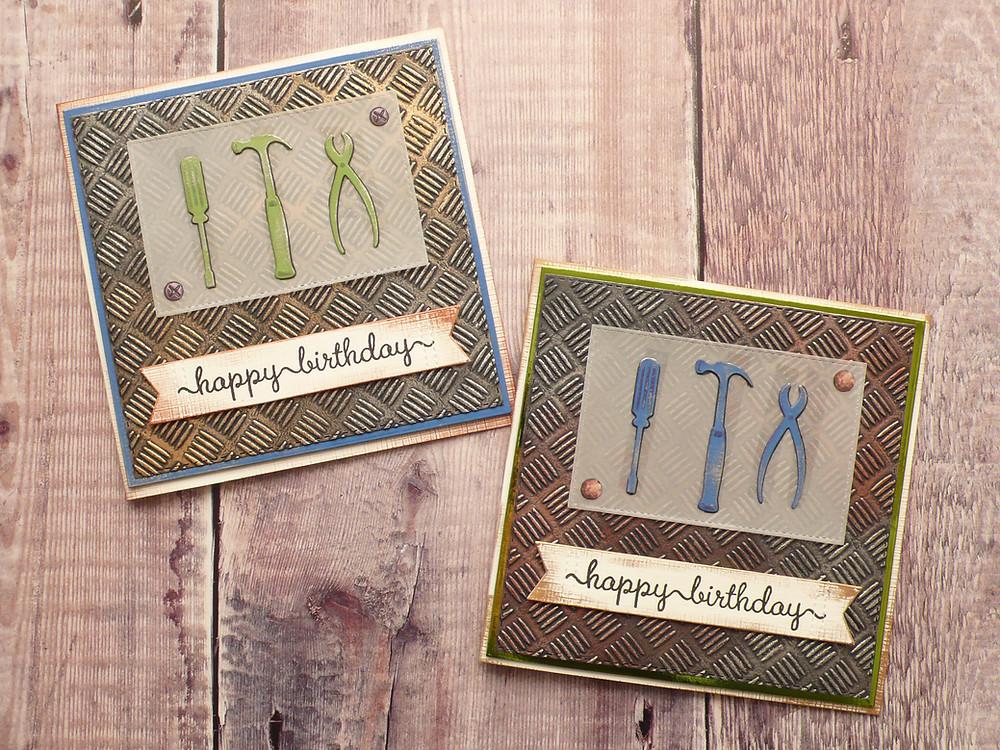 Gilding Wax Masculine Cards