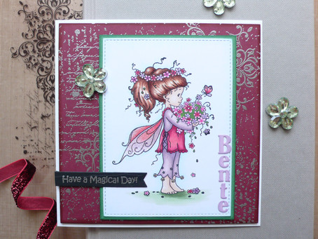 Whimsy Stamps Spring Bringer Birthday Card