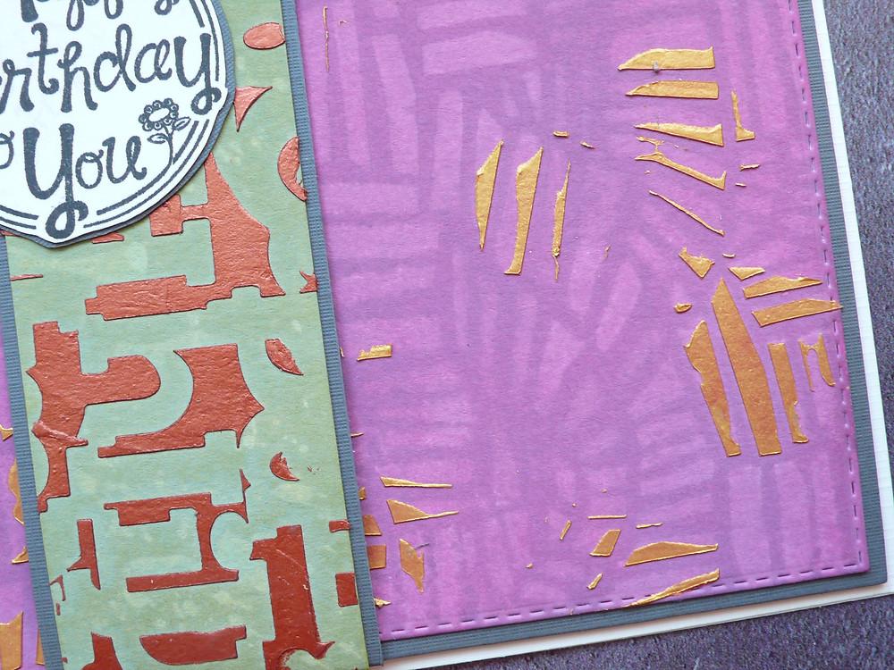TCW Alphabetica / Magic Ladder stencil
