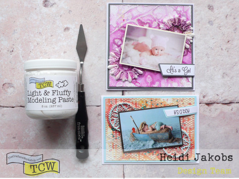 Creating Embellishments with Modeling Paste