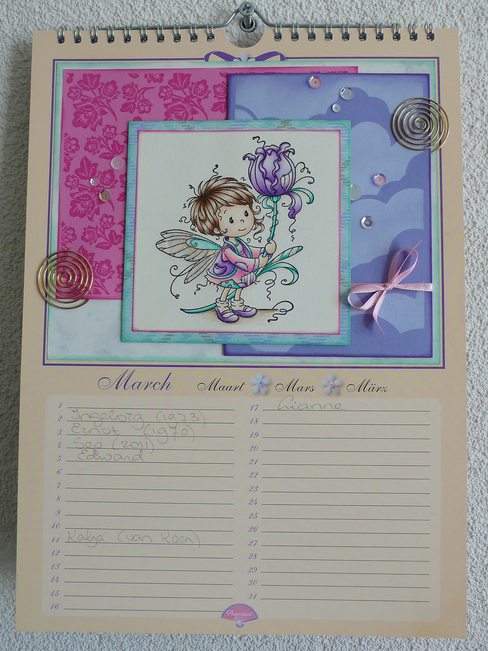 Whimsy Stamps Maya