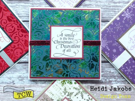 Fabulous Foiled Christmas Cards