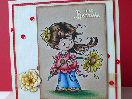 "Whimsy Stamps new release February 2017: ""Peace"""