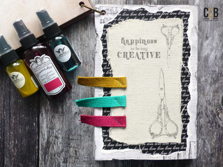 Art Journal Page: Happiness is ...