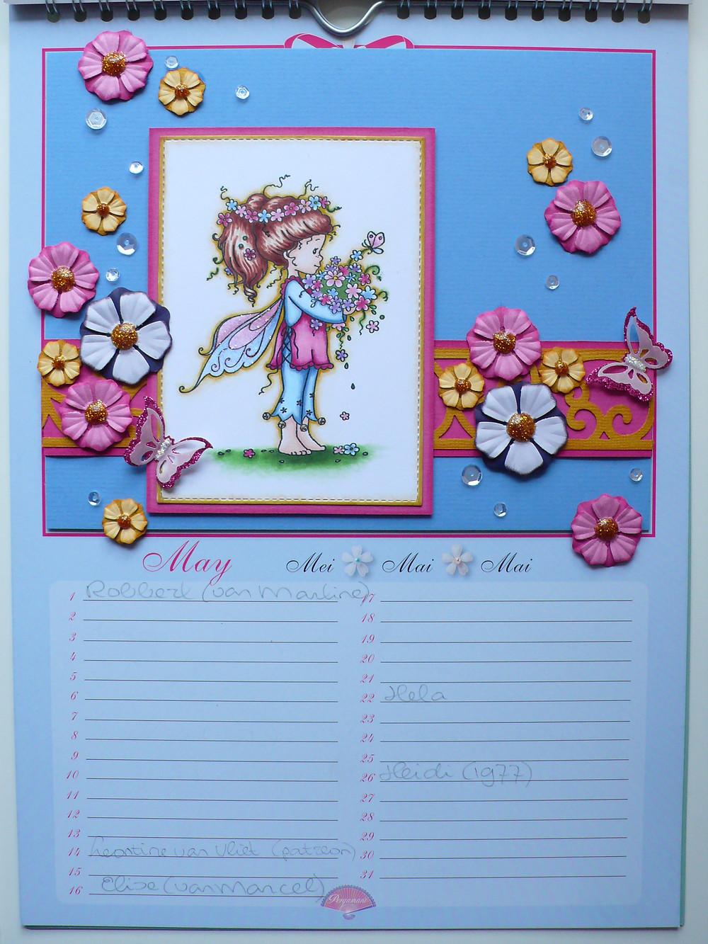 whimsy stamps spring bringer