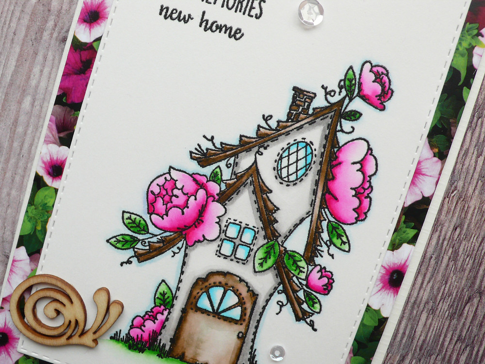 Stamping Bella Fairy Garden House