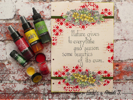Art Journal Page: Every Time and Season