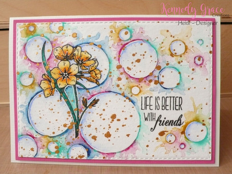 Artsy Flower Card
