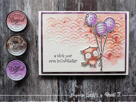 Lindy's Stamp Gang February Color Challenge