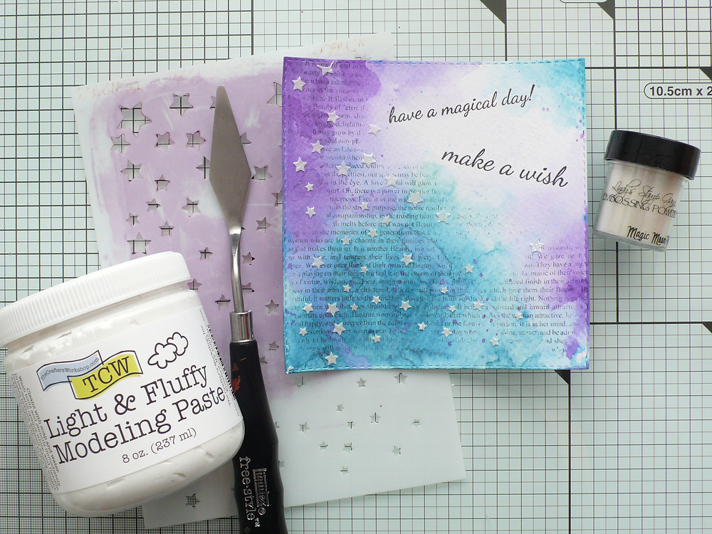 The Crafter's Workshop stencil Twinkle