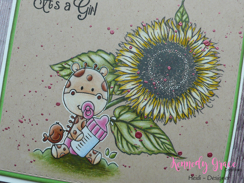 "Kennedy Grace Creations ""Sweet Baby Mine"" ""Beautiful Bloom - Sunflower"""