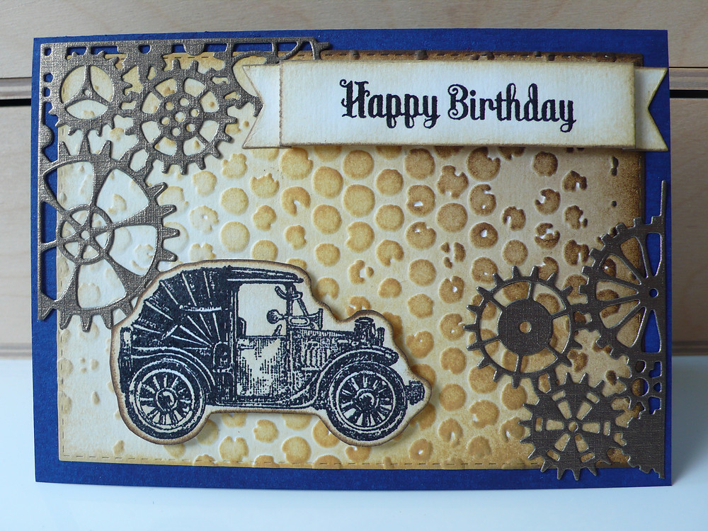 Vintage cars memory box Steampunk corner Clearly besotted sentiment