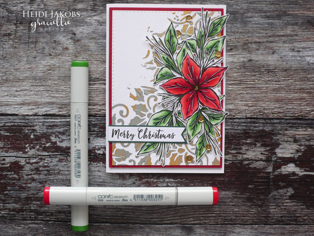 Graciellie Design Guest Project: Traditional Christmas Card