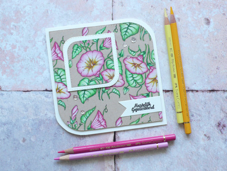 Guest Design Project Crealies : Morning Glory