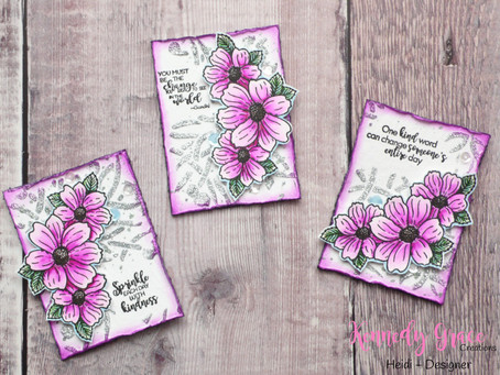 KGC New Release Blog Hop: Kindness ATC's + Giveaway!