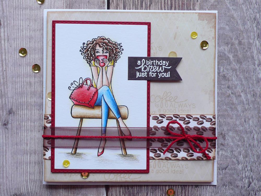 Stamping Bella don'ttalktomebeforemycoffeABELLA eb406