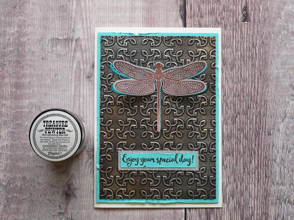 Stampin'Up Garden Trellis Dragonfly Dreams