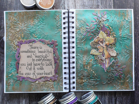 Art Journal Page: Magic is in Your Heart