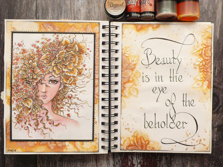 Art Journal Page: Beauty