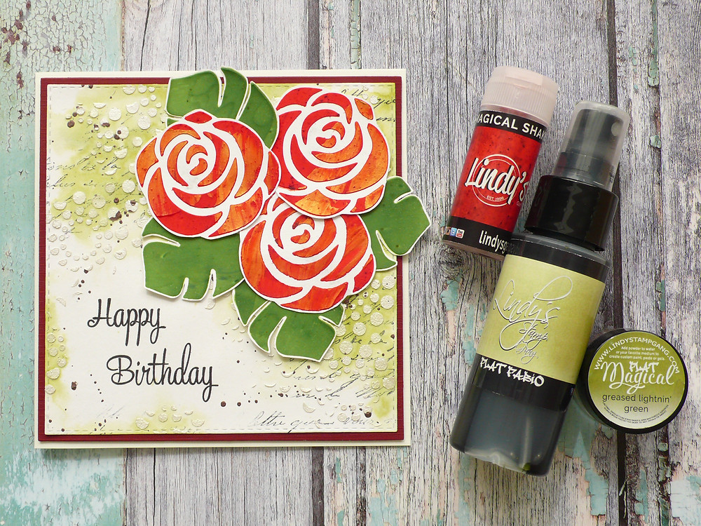 The Crafter's Workshop stencils and Lindys Stamp Gang products
