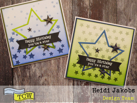Masculine Birthday cards, You're a Star!