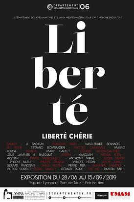 Affiche affiche liberte liberte cherie -
