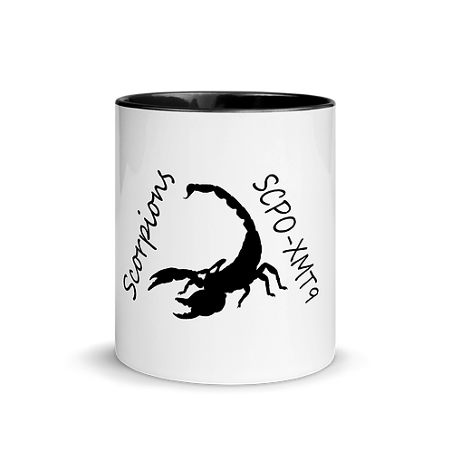 Scorpions Mug with Color Inside
