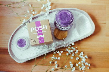 POSH Beauty Essentials Lavender Lip Scrub and Butter