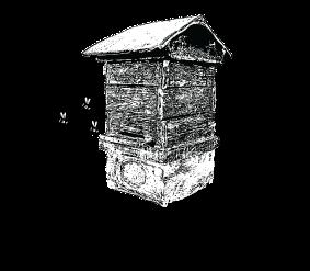 京都ニホンミツバチ研究所のロゴマーク